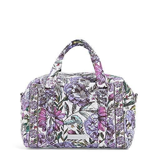 Schlanken Körper Wickeln (Vera Bradley Damen Iconic 100 Handbag, Signature Cotton Ikonische 100-Handtasche, Signaturbaumwolle, Lavender Meadow, Einheitsgröße)
