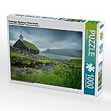 """Funningur, Eysturoy, Färöer-Inseln 1000 Teile Puzzle quer: Ein Motiv aus dem Kalender """"Färöer - Naturwunder im Nordatlantik"""" (CALVENDO Natur)"""