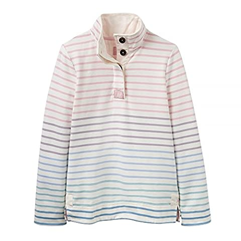 Joules Ladies New Atumn 2017 Cream Ombre Stripe COWDRAY (X) Sweatshirt (18)