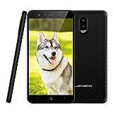 4G Smartphone ohne Vertrag Leagoo Z7 Handy Mobiltelefon 3000mAh Akku Günstiges Telefon 5,0 Zoll FWVGA Display Dreifachkameras Flash LED Android 7.0, RAM 1GB+ ROM 8GB 32GB Erweiterbar in Angebote (Schwarz)