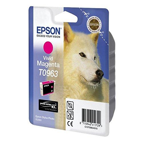 Epson T0963 Cartouche d'encre d'origine Vivid magenta
