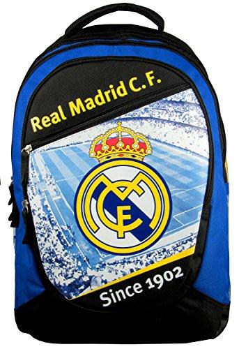Sac à dos scolaire REAL MADRID - 2014 / 2015 - Collection officielle - Rentrée scolaire Karim Collection