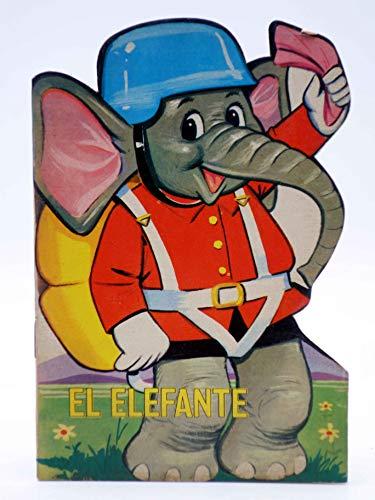 CUENTO TROQUELADO PEQUEÑO ZOO 11. El Elefante. Toray. El Elefante