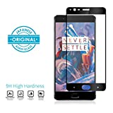 #5: OnePlus 3T/ OnePlus 3 Full Cover 2.5D Mivi Military Grade Anti-Scratch Tempered Glass (Midnight Black and Black)