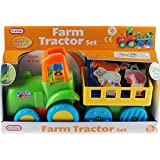 Chunky Baby Toddler My First Farm Tractor And Animals Toy 18m+