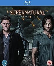 Supernatural - Season 1-9 [Blu-ray] [2015] [Region Free, Import)