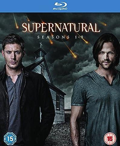 Supernatural Season 1-9 [Edizione: Regno Unito] [Blu-ray] [Import