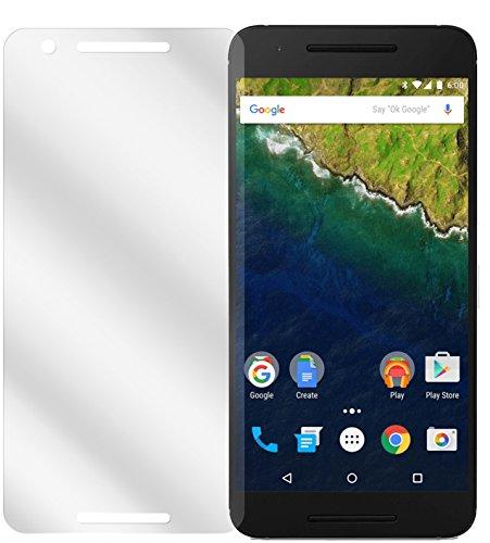 dipos I 6X Schutzfolie klar passend für Huawei Google Nexus 6P Folie Bildschirmschutzfolie