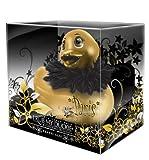Big Teaze Toys Vibrierende kleine Bade-Ente in Paris strahlendem gold