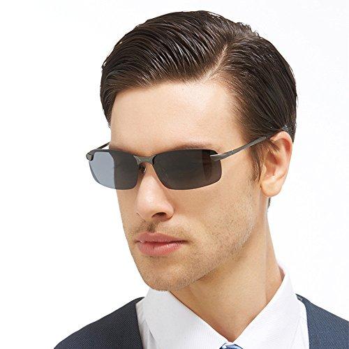 WooCo Nachtsichtfahrbrille für Herren und Damen, heißer Verkauf regnerisch sichere Blendschutz polarisierte Vogue Sonnenbrille Erwachsene(Schwarz,One size)