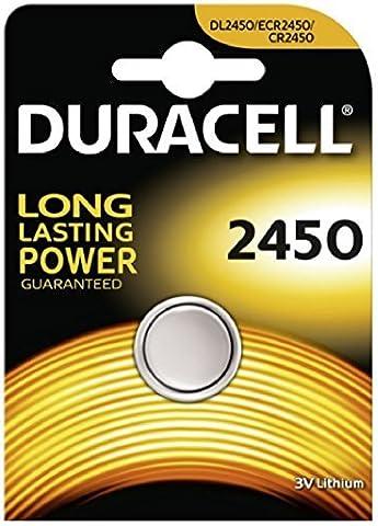 DURACELL CR2450 Pile-bouton au lithium 3V