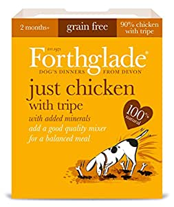 Forthglade Natural Dog Food Chicken and Tripe Menu 395 g (Pack of 18)