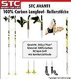 STC Avanti 100% Carbon Langlauf Skating Roller Skike Stöcke Model 2017
