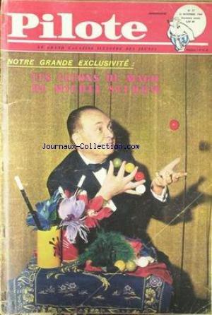PILOTE [No 57] du 24/11/1960 - LECONS DE MAGIE DE MICHEL SELDOW.