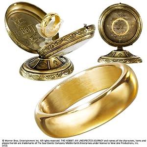 The Noble Collection One Ring (sin grabar) con pantalla de metal