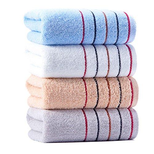 AmazonBasics Juego de 6 toallas de ... vs Plegable toalla 2 capas 20df37d74a6d