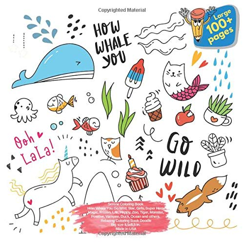 Small Coloring Book Pick Me Hey You Yes You, Star, Frozen, Summer, Love, Vogue, Halloween, Cartoon, Science, Best Friend, Firefighter, Animals, Fox ... Me Hey You Yes You and others Doodle, Band 1)