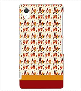 SONY XPERIA Z2 BIRDS PATTERN Designer Back Cover Case By PRINTSWAG