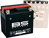 Wartungsfreie Batterie, welche mit dem beiliegenden Säurepack sehr einfach gefüllt wir und dann verschlossen. Die Batterie ist dann sofort einsatzbereit. DIN: 50412, jap. Bezeichnung YTX/CTX5L-BS Volt: 12 Ampere: 4 Länge: 114 Breite: 71 Höhe: 106 Lit...