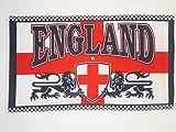 AZ FLAG Flagge England 2 Löwen 150x90cm - Englische Fahne 90 x 150 cm - Flaggen Top Qualität