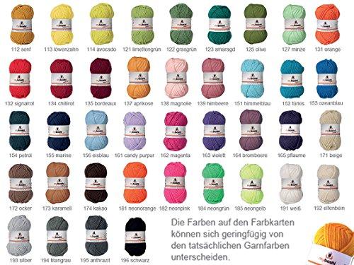 DMC My Boshi - Gomitolo di lana, colore: Turchese 152