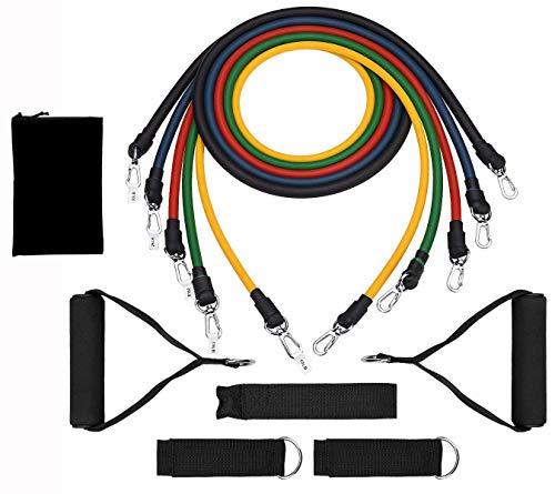 Resistance Bands Widerstandsband Set, Pro Expander Bänder Band Tubes Fitnessbänder, Widerstandsbänder Krafttraining Trainingsband Set