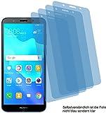 4x ANTIREFLEX matt Schutzfolie für Huawei Y5 Prime 2018 Displayschutzfolie Bildschirmschutzfolie Schutzhülle Displayschutz Displayfolie Folie