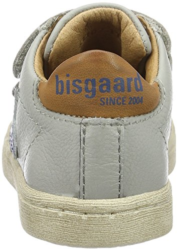 Bisgaard - Klettschuhe, Scarpe da ginnastica Unisex – Bambini Grau (400-1 Light grey)