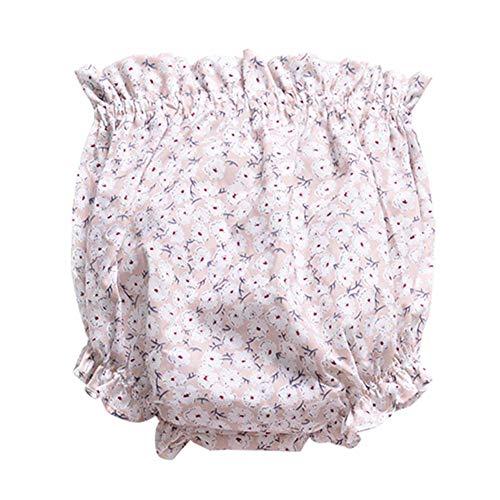 Hongyuangl Bloomers for Baby Mädchen Junge Baumwolle Unterwäsche Slip Höschen Windelhose Shorts Trainingshose