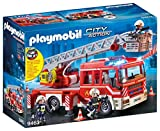 Playmobil- City Action Giocattolo Autoscala dei Vigili del Fuoco, Multicolore, 9463