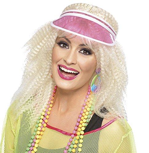 Pinkfarbige Poker-Kappe -Kartenspiel-Kopfbedeckung, Karneval, Fasching