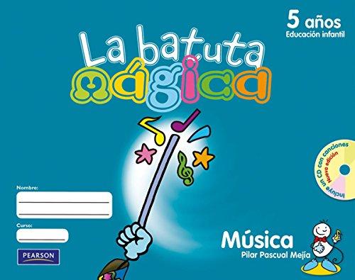 La batuta mágica 5 años fichas del alumno - 9788420547947 por Pilar Pascual Mejía