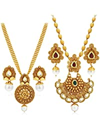 Sukkhi Jewellery Sets for Women (Golden) (388CB1400)