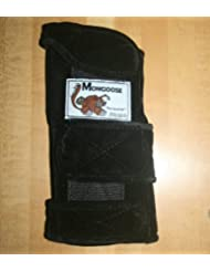 Mongoose Equalizer Bowling Wrist Support left Hand, Small, Black by Mongoose Products