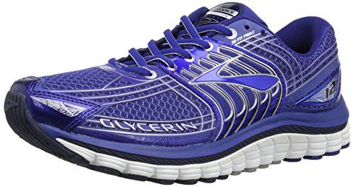 Brooks Glycerin 12 - Zapatillas de running para hombre, color azul/gris (sodalite blue/methyl blue/silver), talla 40