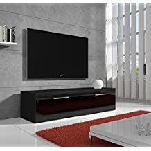 Muebles Bonitos – Mueble TV modelo Arona Negro 1m