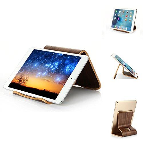 thanly Elegante Tablet Ständer Universal Ständer natur Holz Halterung Dock für iPad 1234mini Retina Air/Air 2Google Nexus 7910Samsung Tab 2347.08.0Note 10.1Tab Pro 8.4Dell Venue 78Pro