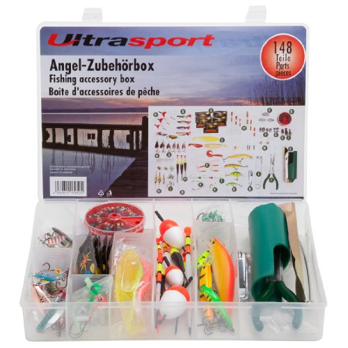 Ultrasport Angel-Zubehörbox 148-teilig