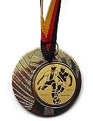 e109 Angeln Pokal Kids 20 x Medaillen 50mm mit Band&Emblem Pokale Turnier Medaillen