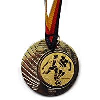 Schwimmen Pokal Kids Medaillen 70mm mit Emblem Deutschland-Band Turnier E103 Pokale & Preise