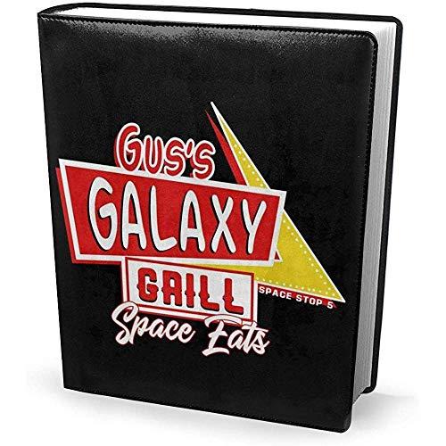Buchcover 9 x 11 Zoll Gus Galaxy Grill Spaceballs - dehnbar waschbar wiederverwendbar