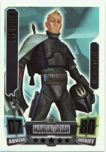 Star Wars Force Attax Séparatiste mandalorian - LE4 vizsla'- édition limitée au...