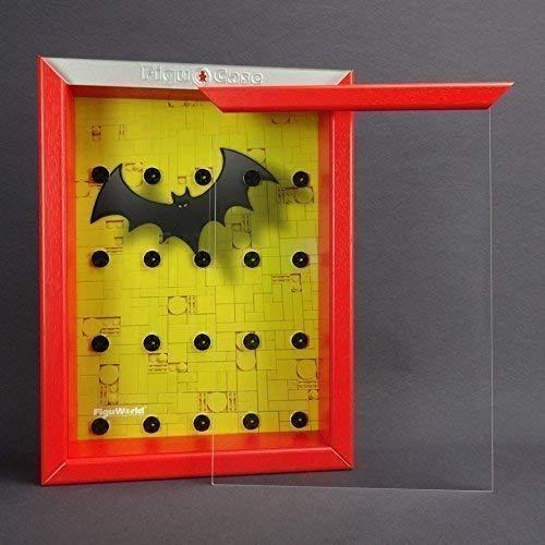 FiguCase Click System Vitrine für eure LEGO® Serie Batman 71017 rot (Lego Custom Batman Minifiguren)