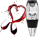 Wuudi Wine Aerator Decanter With Base For Red Wine , Great Gift