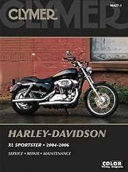 Harley-Davidson XL Sportster 2004-2006 (Clymer Motorcycle)