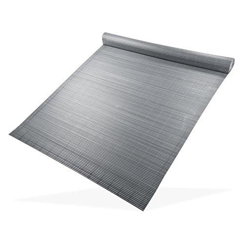DEMA Sichtschutzmatte 180x500 grau