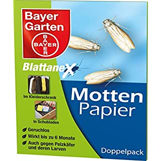 Bayer Garden Moth Papers Anex Pack of 2Strips