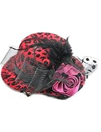 Schwarz Rockabilly FDH4006 Edles Pin Up Burlesque BOW Headpiece HAARREIF