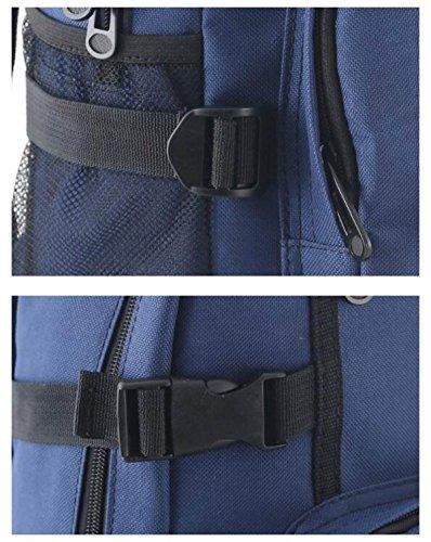 6e3d1b6af2b6d YUEER Herren Rucksack Verstellbarer Schulterriemen Draußen Wandern Wandern  Mode Freizeit Student Reisen B