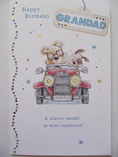 Un modello classico in mint condition colourful auto grandad birthday biglietto d' auguri
